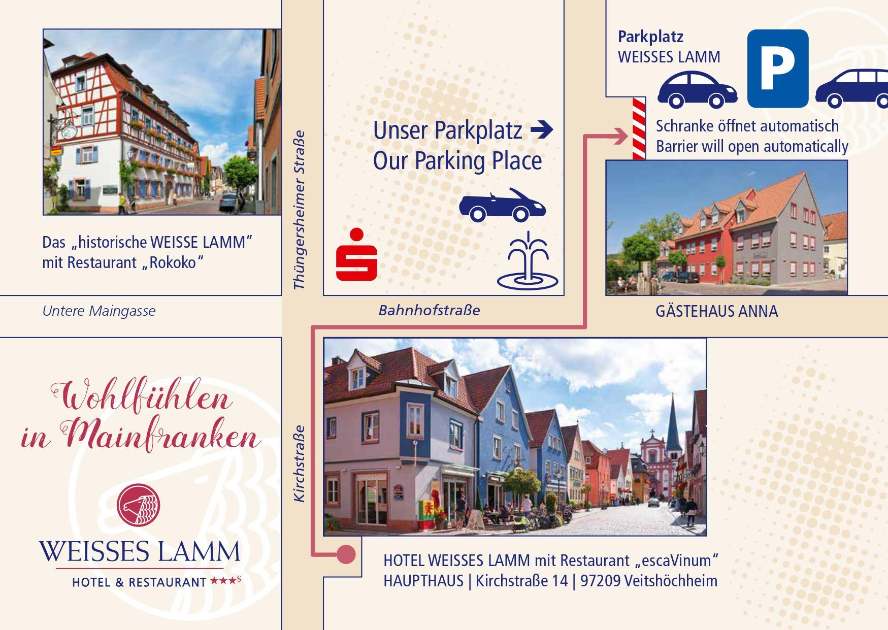 Parken Hotel Weisses lamm Veitshöchheim